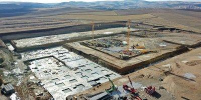 Dev fuar alanının temelleri Akyurt'ta atıldı