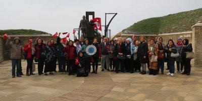 Kırşehirli kadınlardan Çanakkale'ye çıkarma
