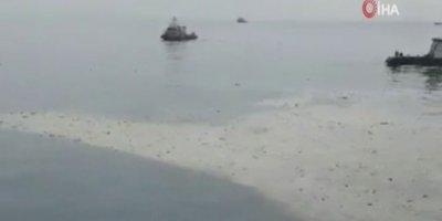 Endonezya'dan havalanan yolcu uçağı denize düştü