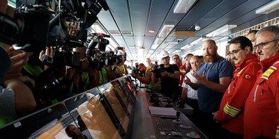 Yeni nesil sondaj gemimiz Fatih ilk seferinde!