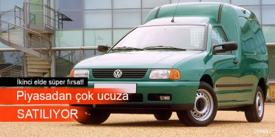 Volkswagen Caddy 1.6 TDİ icradan satılıktır