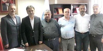 Nallıhan Spor Kulübü'nden AASKF'ye çalışma ziyareti