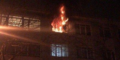 Başkent'te korkunç yangın! Evcil hayvanlar telef oldu