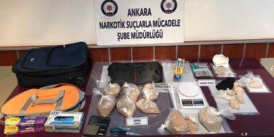 Eroin kaçakçılarına Ankara'da büyük operasyon