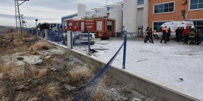 Kırıkkale Organize Sanayi Bölgesi'nde patlama