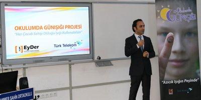 """Türk Telekom'dan """"Okulumda Günışığı"""" semineri"""