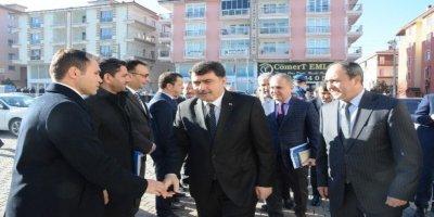 Vali Vasip Şahin Akyurt'u ziyaret etti