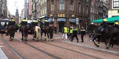 Sarı Yelekliler eylemi Hollanda'ya da sıçradı