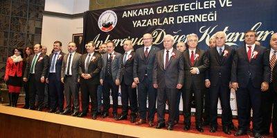 Ankara'ya Değer Katanlara ödül