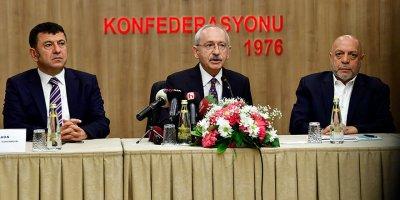 """Kılıçdaroğlu: """"2 bin 200 liranın altında bir asgari ücreti kabul etmiyoruz"""""""