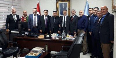 Kırşehirli eğitimcilerden Toklucu'ya hayırlı olsun ziyareti