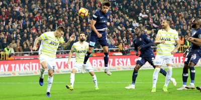 Fenerbahçe ilk yarıyı 17. sırada tamamladı