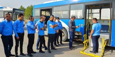 EGO şoförlerine 'engelli yolcu' eğitimi