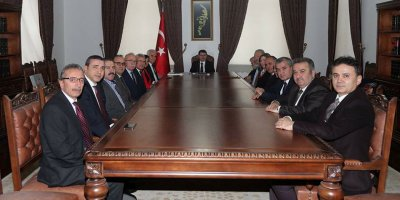 Ankaralılardan Vali Şahin'e ziyaret