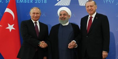 Erdoğan, Putin ve Ruhani 2019'un başında görüşecek