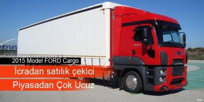 2015 Model FORD Cargo marka çekici icradan satılıktır