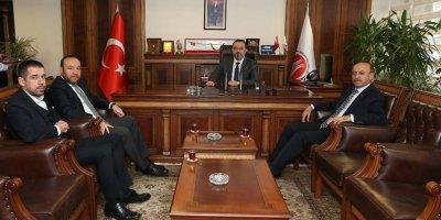 Başkan Ercan'a anlamlı ziyaret