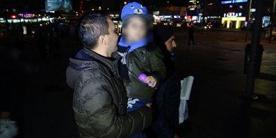 3 yaşındaki oğlunu AVM'de terk eden anneden yürek burkan not