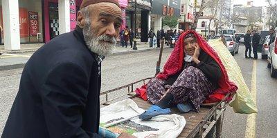 Adıyamanlı yaşlı kardeşlerin yürek burkan görüntüleri!