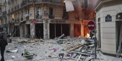 Fransa'nın başkenti Paris'te patlama meydana geldi