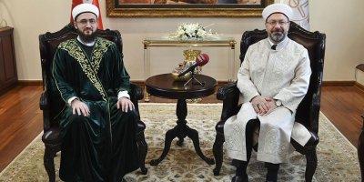 Tataristan Cumhuriyeti'nden Diyanet'e ziyaret