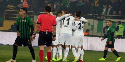 Beşiktaş Akhisarspor'u 3-1 yendi