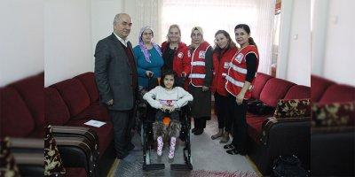 Türk Kızılay Ankara'dan ihtiyaç sahibi engelli çocuklar için anlamlı proje
