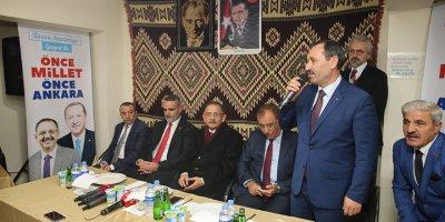 Özhaseki ve Başkan Demirel'e Erzurumlular'dan tam destek