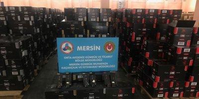 Milyonlarca paket kaçak sigara ele geçirildi