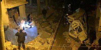 Kazan dairesi patladı: 2 ölü, 6 yaralı