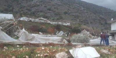 Antalya'daki hortumda 5 kişi yaralandı