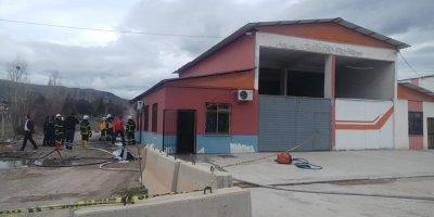 Kırıkkale'de akaryakıt deposunda patlama: 1 ölü