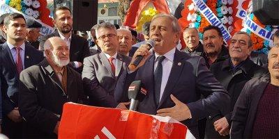 Yıldırım Kaya Sulakyurt Belediye Başkanı'na yüklendi