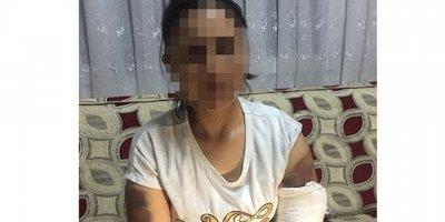Kocası inşaat demiriyle dövdü