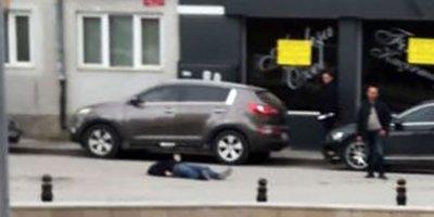 Sokak ortasında enişte infazı