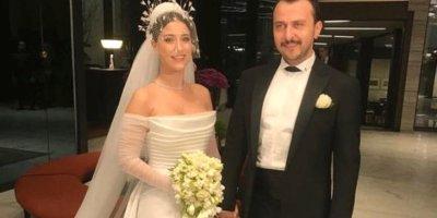 Hazal Kaya'nın düğününe ünlüler akın etti