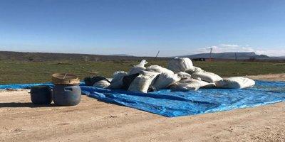 Diyarbakır'da PKK' ya uyuşturucu darbesi