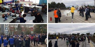 AFAD ekipleri ANKÜ okullarında