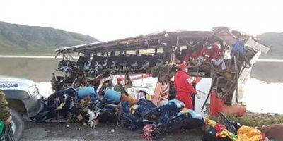 Feci kazada 24 kişi öldü, 12 kişi yaralandı