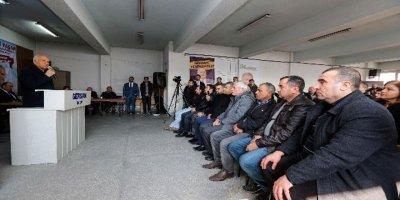 Millet İttifakı adayları seçim çalışmalarını sürdürüyor