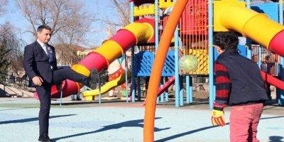 Gölbaşı başkan adayı internetli ve güvenli park sözü verdi