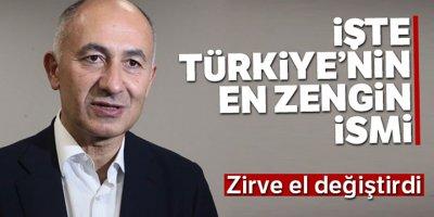 Türkiye'nin en zengin ismi değişti