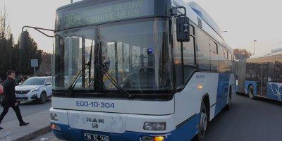 EGO otobüsü kaza yaptı: 4 yaralı