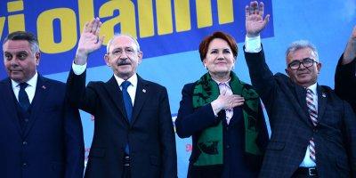 CHP ve İYİ Parti ortak miting yaptı