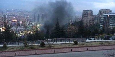 Ankara'da aquaparkta yangın