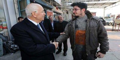 Yaşar, Yeni Başkent Oto Sanayi'ni ziyaret etti
