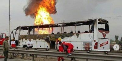 İran'da boru hattında patlama