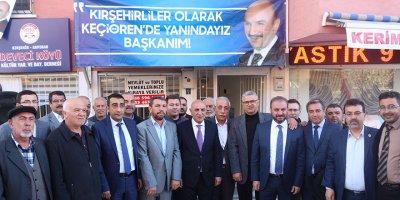 Deveci Köyü Turgut Altınok'u ağırladı