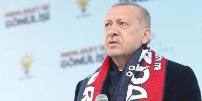Cumhurbaşkanı Erdoğan'dan seçim çağrısı