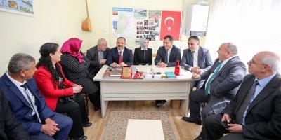 Sincan 71 Kırıkkaleliler Derneği siyasileri ağırladı